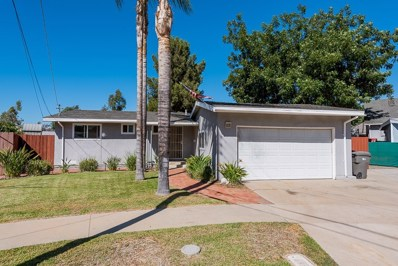 625 Bison Ct., El Cajon, CA 92019 - MLS#: 180053097