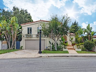 4740 Norma Drive, San Diego, CA 92115 - MLS#: 180053901