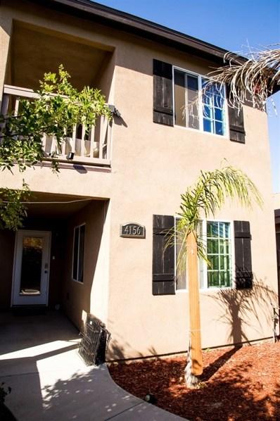 4156 Epsilon, San Diego, CA 92113 - MLS#: 180054101
