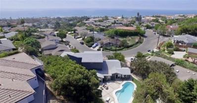 1032 Skylark Drive, La Jolla, CA 92037 - MLS#: 180054157