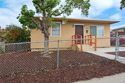 4542 G Street, San Diego, CA 92102 - MLS#: 180054308
