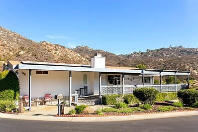 8975 Lawrence Welk Dr #243 UNIT 243, Escondido, CA 92026 - MLS#: 180054937