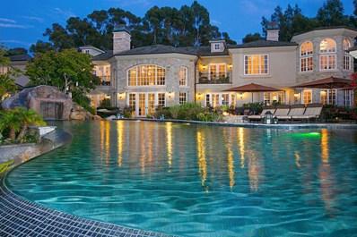 6397 Clubhouse Drive, Rancho Santa Fe, CA 92067 - MLS#: 180054982