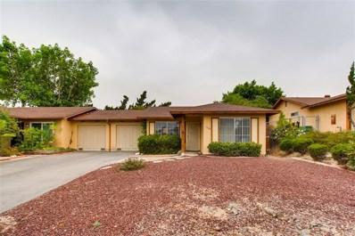 1529 Temple Heights Drive, Oceanside, CA 92056 - MLS#: 180054996
