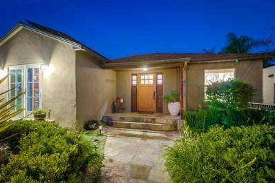 4669 59th, San Diego, CA 92115 - MLS#: 180055092