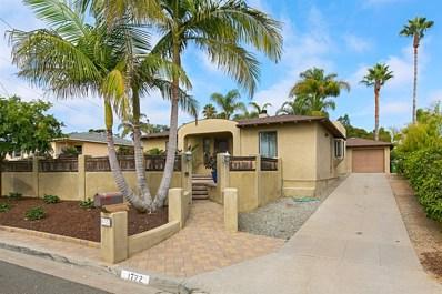 1722 Kurtz Street, Oceanside, CA 92054 - MLS#: 180055449