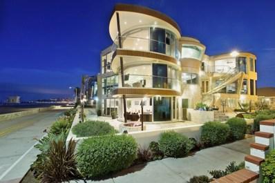 3675 Ocean Front Walk, San Diego, CA 92109 - MLS#: 180055670