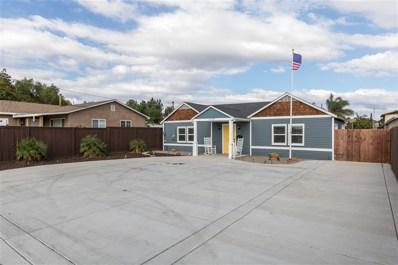 1137 Del Mar Ave, Chula Vista, CA 91911 - MLS#: 180055845