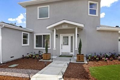 3921 Quarry Rd, La Mesa, CA 91941 - MLS#: 180056111