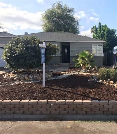 483 Gardner St, El Cajon, CA 92020 - MLS#: 180056137