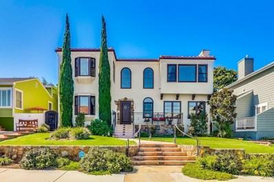 1126 Savoy Street, San Diego, CA 92107 - MLS#: 180056182