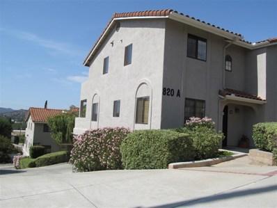 820 E 3rd Ave, Escondido, CA 92025 - MLS#: 180056192