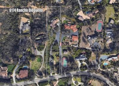 6174 Rancho Diegueno Road, Rancho Santa Fe, CA 92067 - MLS#: 180056250