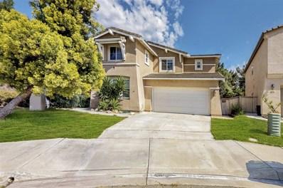 851 Bryce Canyon, Chula Vista, CA 91914 - MLS#: 180056260