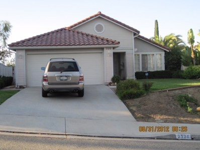 2328 Shadyridge Ave, Escondido, CA 92029 - MLS#: 180056336