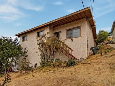 1319 San Bernardino Ave, Spring Valley, CA 91977 - MLS#: 180056348