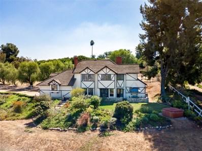 2607 Alta Vista Drive, Fallbrook, CA 92028 - MLS#: 180056571
