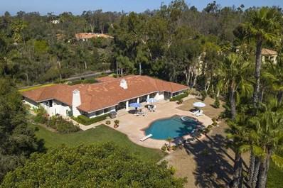 14651 Calle Carla, Rancho Santa Fe, CA 92067 - MLS#: 180056671