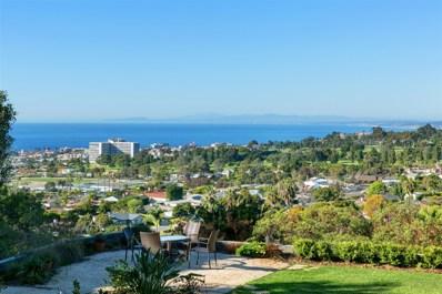 1106 Muirlands Dr, La Jolla, CA 92037 - MLS#: 180056858