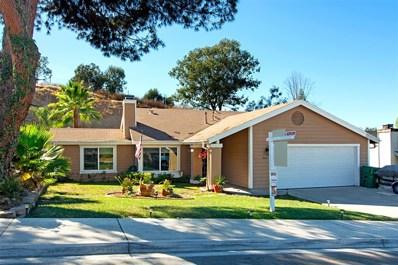 8660 Via Del Luz, El Cajon, CA 92021 - MLS#: 180056960