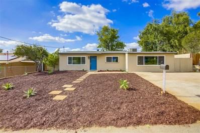 1340 Somermont Dr, El Cajon, CA 92021 - MLS#: 180057307