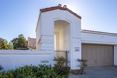 4074 Arcadia Way, Oceanside, CA 92056 - MLS#: 180057309