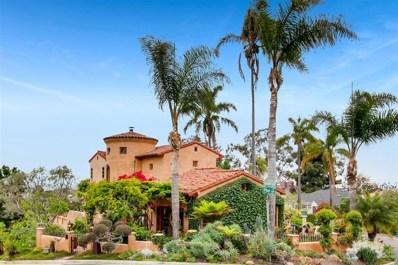 4435 Conde Place, San Diego, CA 92103 - MLS#: 180057448