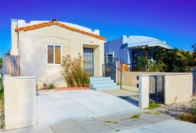 3655 44th Street, San Diego, CA 92105 - MLS#: 180057769