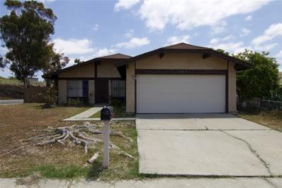 1265 Agapanthus Dr, San Diego, CA 92114 - #: 180058193