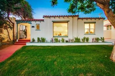 3464 Cooper St, San Diego, CA 92104 - MLS#: 180058233