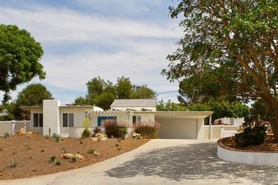 907 Knoll Park Lane, Fallbrook, CA 92028 - MLS#: 180058329