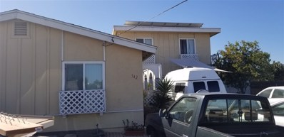 342 Topaz Ct, Chula Vista, CA 91911 - MLS#: 180058342