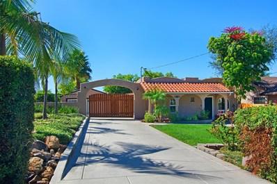 4470 Maple Ave, La Mesa, CA 91941 - MLS#: 180058574