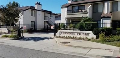 450 W Vermont Ave UNIT 1601, Escondido, CA 92025 - MLS#: 180058811