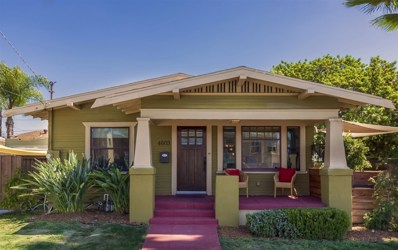 4603 Louisiana St, San Diego, CA 92116 - MLS#: 180059192
