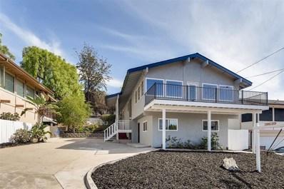 3807 Nereis Drive, La Mesa, CA 91941 - MLS#: 180059243