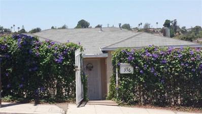 356 Thrush St, San Diego, CA 92114 - MLS#: 180059713