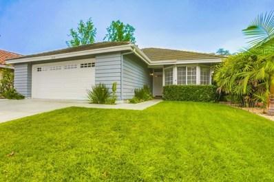5359 Raspberry Way, Oceanside, CA 92057 - MLS#: 180060041