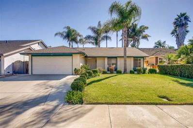 4567 Stratford Cir, Oceanside, CA 92056 - MLS#: 180060232