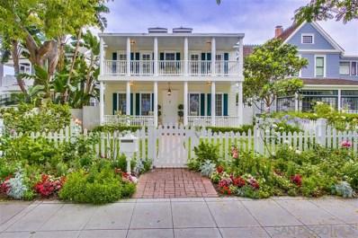 1216 Churchill Place, Coronado, CA 92118 - MLS#: 180060254