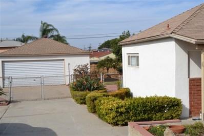 5630 Winchester Street, San Diego, CA 92139 - MLS#: 180061447