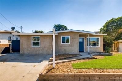 6051 Thorn St, San Diego, CA 92115 - #: 180061955