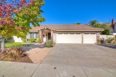 14853 Oakline Road, Poway, CA 92064 - MLS#: 180062544