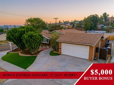 1204 Purdy St, Spring Valley, CA 91977 - MLS#: 180062567