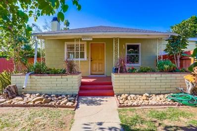 4602 Felton Street, San Diego, CA 92116 - #: 180062592