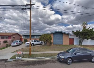 4968 Elm St, San Diego, CA 92102 - MLS#: 180062632
