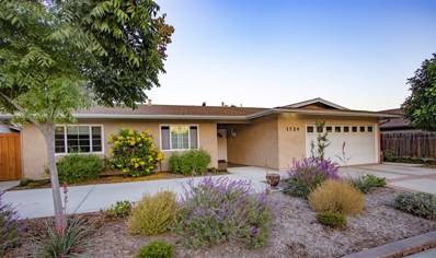 1724 S Redwood St, Escondido, CA 92025 - MLS#: 180062737