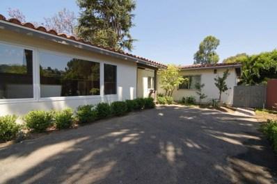 2445 Hidden Valley Road, La Jolla, CA 92037 - MLS#: 180062881