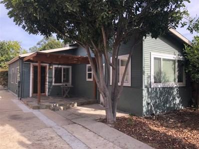 1223 26th Street, San Diego, CA 92102 - MLS#: 180063001