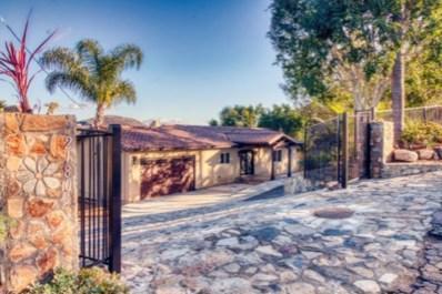 2180 Esplendido Avenue, Vista, CA 92084 - MLS#: 180063200